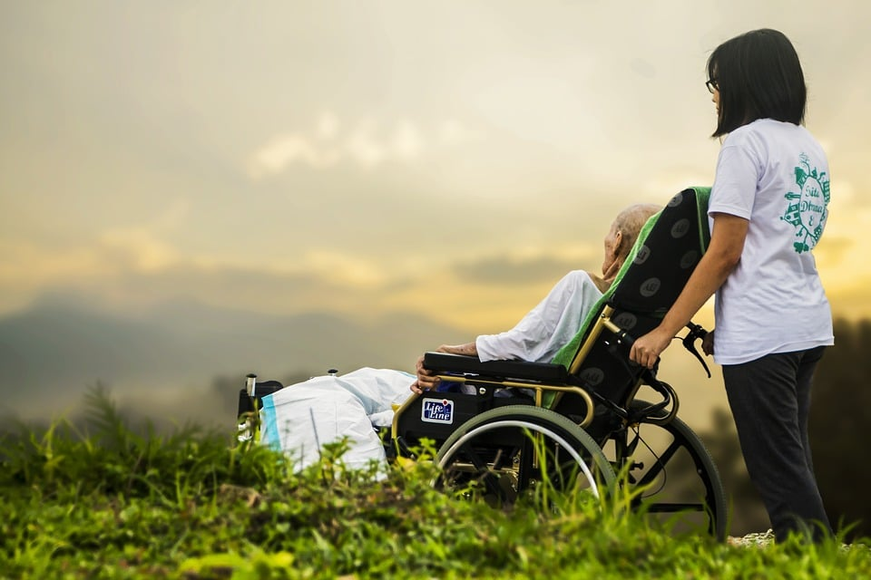 Home care is a growing occupation because of Baby Boomers ageing