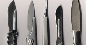 traditional scalpels